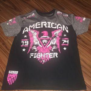 American fighter shirt